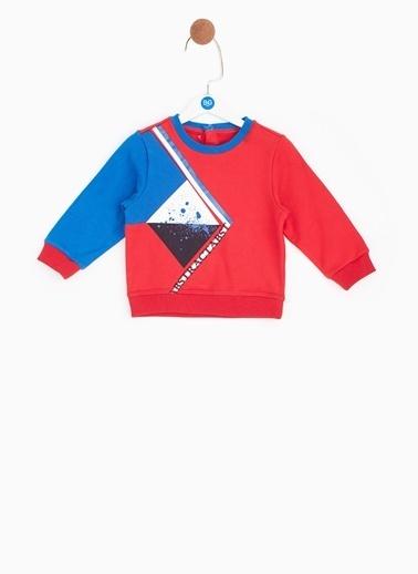 BG Baby Sweatshirt Kırmızı